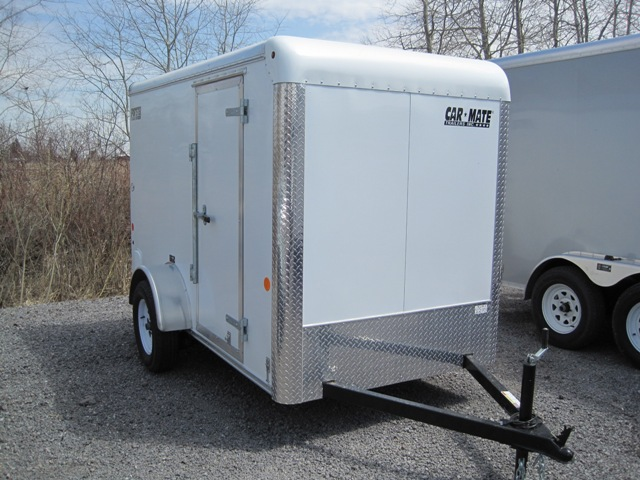 Carmate 5 X 8 5 Enclosed Sportster Cargo Trailer